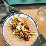Gresk-inspirert wraps med kylling
