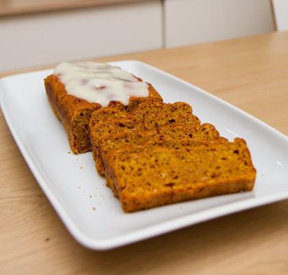 Gresskarkake (pumpkin bread)