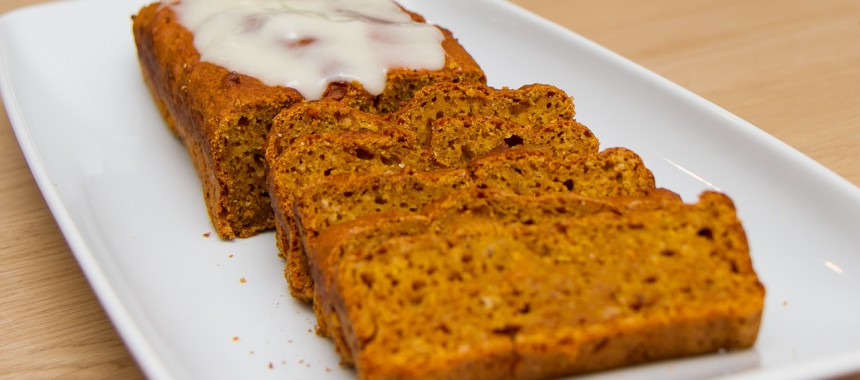 Gresskarkake – Pumpkin bread