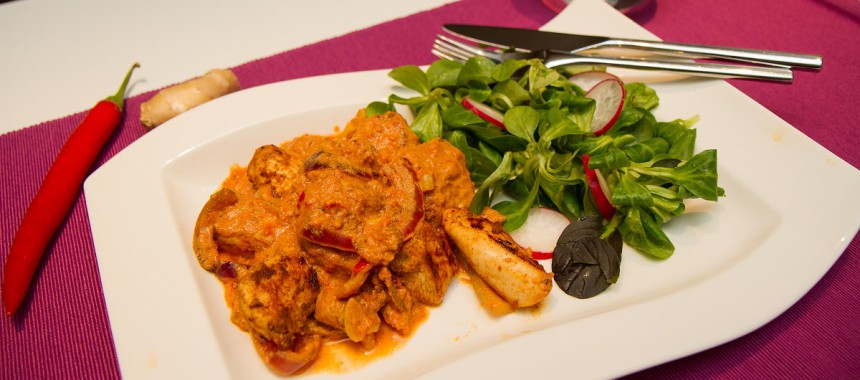 Magrere kylling tikka masala