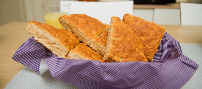 Grove scones – Kjapp og enkel frokost