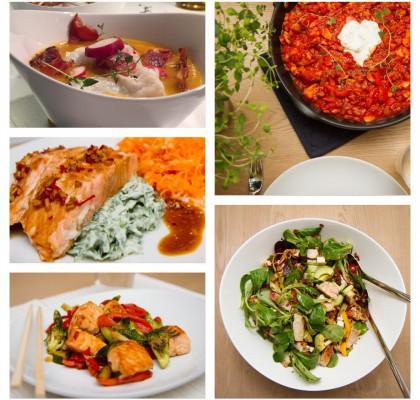 5 gode og magre middagsretter