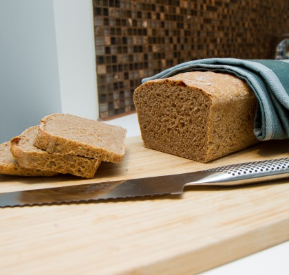 Eltefritt brød i form