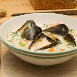 Fiskesuppe med blåskjell