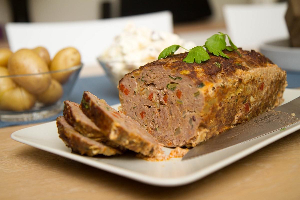 Kjøttpudding med chorizo