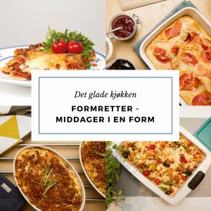 Formretter - gode middager i en form