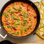 Currygryte med kikerter