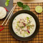 Tom kha gai – Kyllingsuppe fra Thailand