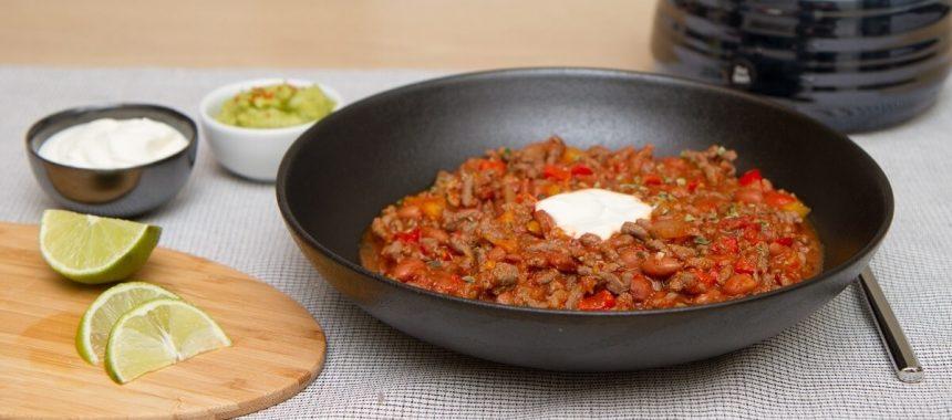 Lettvint chili con carne