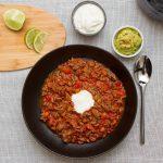 Lettvint chili con carne - Perfekt for travle hverdager