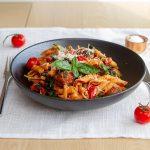 Easy peasy pasta med chorizo