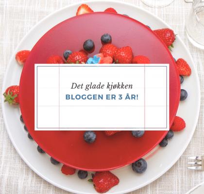 Bloggen 3 år
