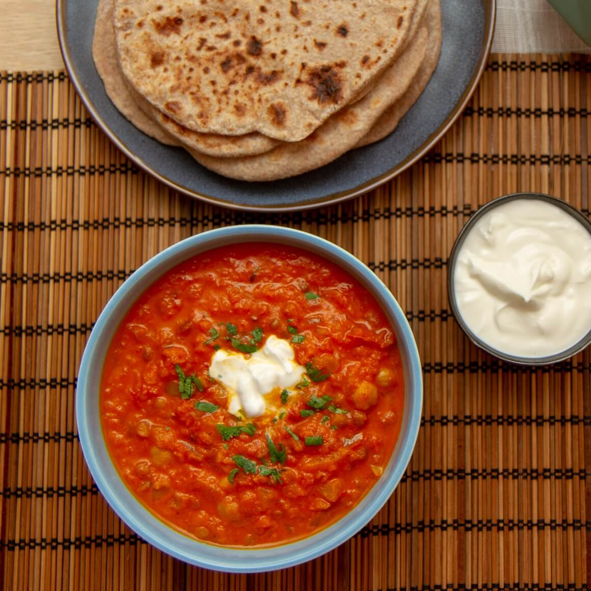 Dal med chapati