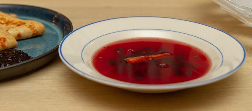 Saftsuppe (sagogrynsuppe)