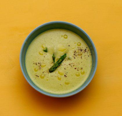 Kremet aspargessuppe